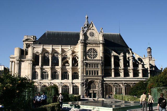 Paris architecture for Chambre de commerce st eustache